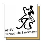 Logo Tanzschule Sandmann